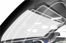 Glass Auto Stereos - AccoustiVision Car Windows by Magna International to Replace Speakers