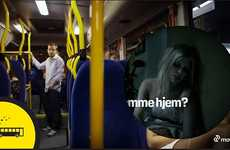 Realistic Booze Bus Marketing - The Movia Bus Ad Lets You Know When It's Time to Go