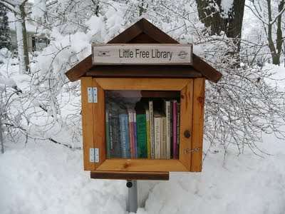 Birdhouse Bookshops - The Little Free Library Program Encourages Public Literacy