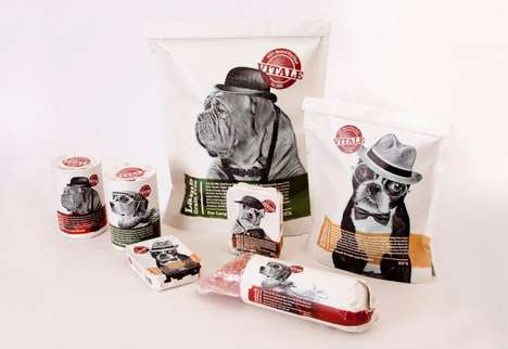 Vitale Dog Food Packaging