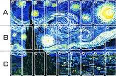 Artsy Mobile Decals - The SlickWraps Starry Night iPhone Skin is a Masterpiece