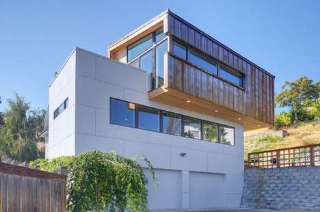 Boxy 1900s Architecture - The Shorter Residence Mixes Old and New in Washington