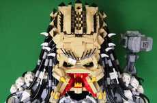 Trophy Armor Predator Brings LEGO to a Frightening Level