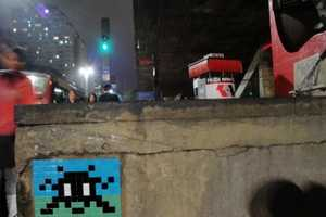 French Street Artist Invader Takes on Brazil With Amazing Effects