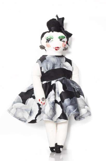 Charitable Couture Dolls - Proceeds from Lanvin Petite Dolls Go to HIV-Positive Women in Africa