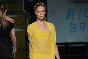 The Helmut Lang Spring 2012 Collection is Quirky and Cool