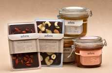 Humble Health Food Branding - Uten's Simple Packages Emanate a Cute and Delectable Charm