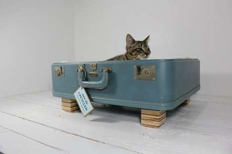 Upcycled Vintage Pet Beds