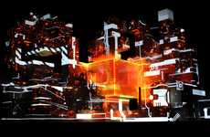 Discordant Sound Sculptures - Amon Tobin ISAM Live is a Symphony of Light and Sound