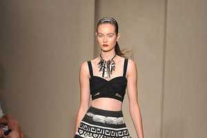 The Donna Karan Spring 2012 Collection Conveys Tribal Inspiration