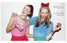 Colorful Candy Lookbooks
