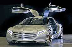 Affluent Eco Cars - The Mercedes-Benz F125! Brings Luxury to the Green Car Game