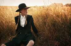 Amorous Amish-Inspired Shoots
