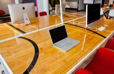 Reclaimed Courtside Desks