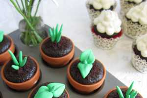 These Sweet Sprout Cupcake Toppers are Mouth-Watering
