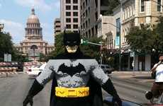 Bricked Cape Crusaders - Evan Bacon Creates an Epic Life-Sized LEGO Batman