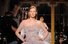 Tulle-Obsessed Collections - The Marchesa Spring Collection is Extravagantly Feminine