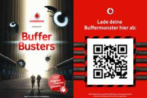 The Vodafone Buffer Busters Turns Your City into a Video Game