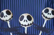 Creepy Cinematic Character Candies - The Jack Skellington Cake Pops are a Halloween Treat to Die For