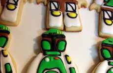 Sugary Sci-Fi Snacks - The Wacky Cookies Boba Fett Sugar Cookies are Geektastic