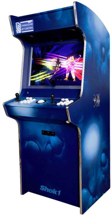 Tsunami Relief Arcades - The Limited Edition Art-Cade Machine Gets Auctioned for a Great Cause
