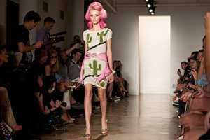 The Jeremy Scott SS12 Collection Offers Unusual Prints & Vibrant Colors