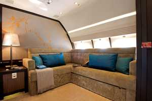 Comlux Unveils the World's Largest Corporate Jet Cabin