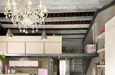 Pretty-in-Pink Properties - This Barcelona Vintage Loft is One Mediterranean Dream