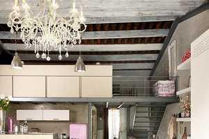 This Barcelona Vintage Loft is One Mediterranean Dream