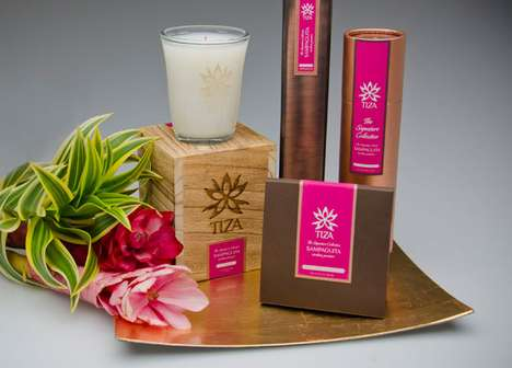 Tiza Candles Packaging