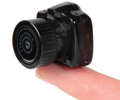 Tiny Digital Devices - The World's Smallest Camera Makes You Feel Like a Spy