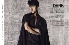 The 'Dark Force' Vogue Hommes Japan Spread is Deeply Captivating