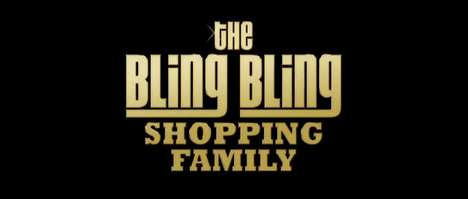 Flashy Coupon Campaigns - The Bling Bling Shopping Family Raps About Rebates
