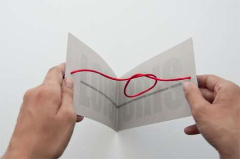 Interactive Wedding Invites - Cristina Moraleja's 'Lois + Cris' Invitation Ties the Knot on the Spot