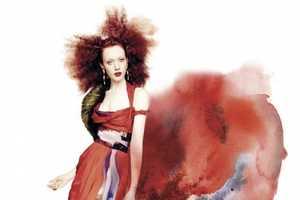 The Chantal Stafford Abbott Pulp Magazine Shoot Blurs Boundaries