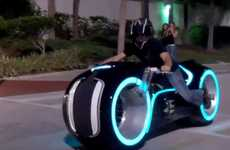 Sci-Fi Street Bikes - The Parker Brothers Lightcycle is an Exclusive 'TRON' Replica