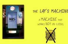 DIY Chip Vending Machines - Lay's Argentina Invites Users to Make Their Own Chips