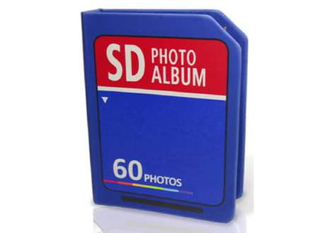 Low-Tech Tangible Scrapbooks - The SD Photo Album Promotes Printing Your Pictures
