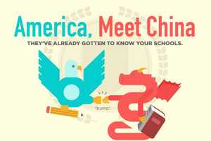 The 'America, Meet China' Infographic Takes a Look at Learners