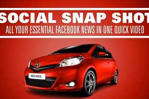 The Toyota 'Social Snap Shot' App Personalizes Your News Feed