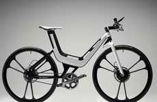 Electrifying Eco-Friendly Cycles - The Ford E-Bike Combines Speed and Sustainability