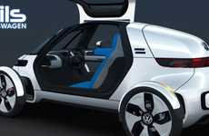 Futuristic Pod Cars - The Volkswagen NILS Combines Style and Safety into One Compact Package