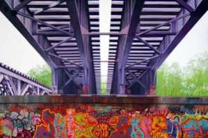 The Jessica Hess Urban Landscapes Identically Imitates Reality