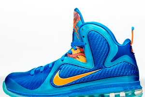 Explode on the Court with the Nike LeBron 9 'Fire Lion' Kicks