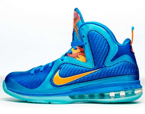 Nike LeBron 9 Fire Lion