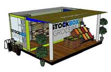 Impromptu Urban Markets - Stockbox Grocers Create Petite City-Friendly Food Stores