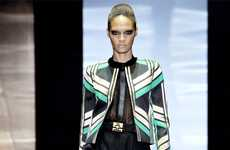Modern Metallic Designs - The Gucci Spring 2012 Collection Brings Back Italian Glamor