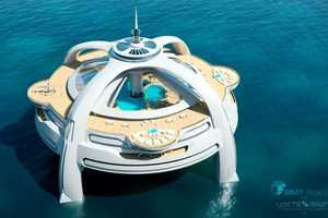 The Utopia Yacht Lets You Live the Luxury Life in Any Ocean