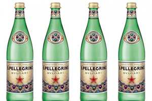 San Pellegrino Bvlgari Bottle is a Limited Edition Drinkable Accessory