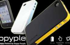 Slim Mobile Cover Chargers - The ppyple Active Case AC4 Expands Battery Life without the Bulk